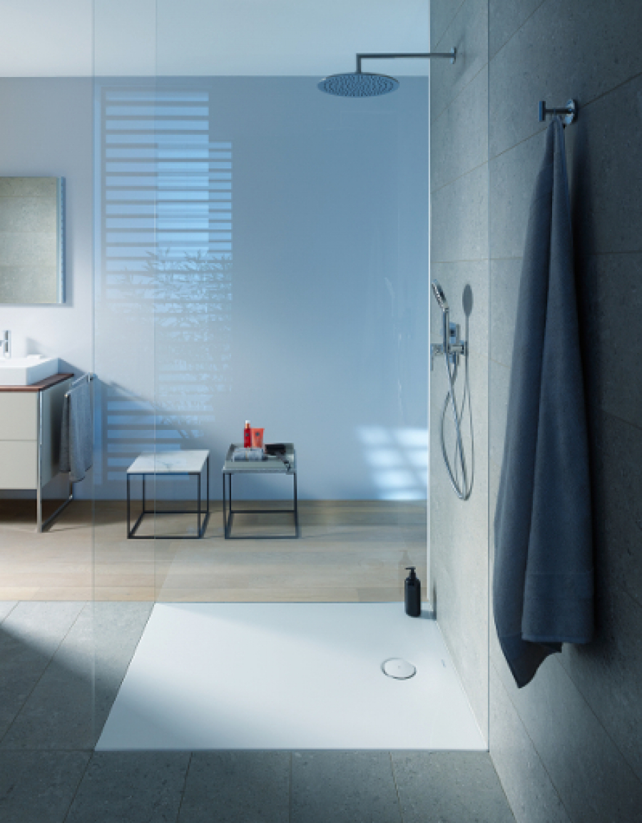 Brodzik Duravit Tempano – trwałe, łatwe w montażu i stylowe rozwiązanie do łazienki z prysznicem