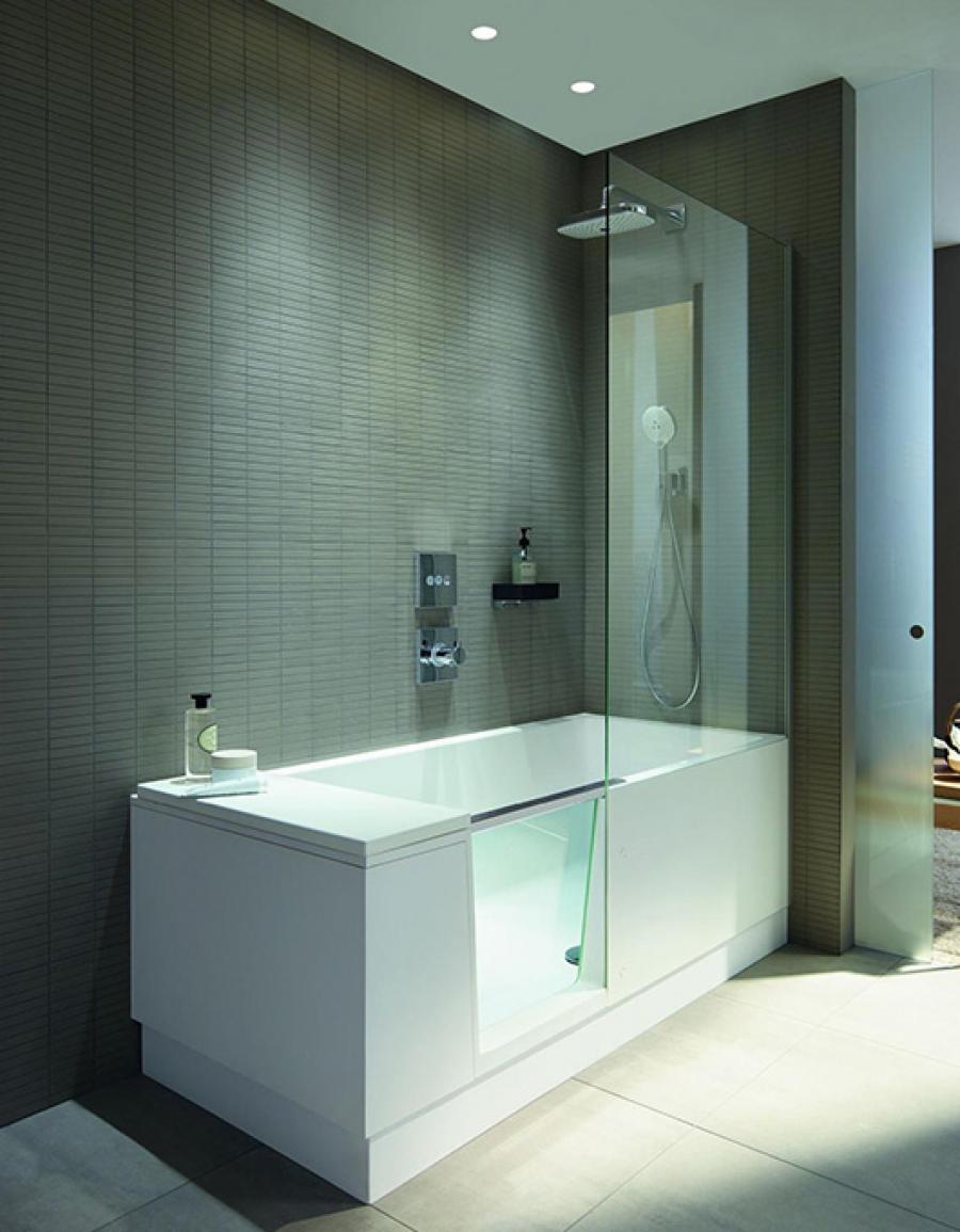 Duravit Shower&Bath – wanna i prysznic w jednym