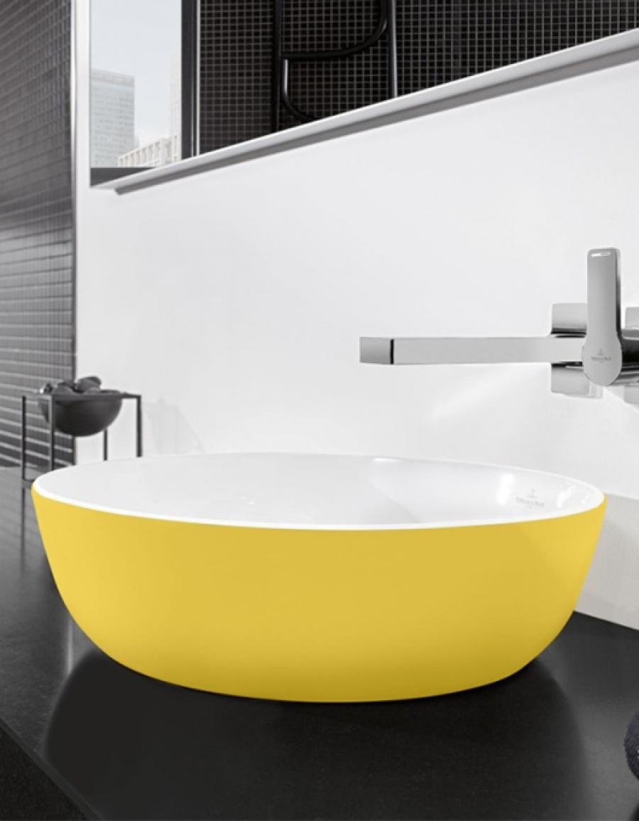Villeroy&Boch Artis – owalna umywalka stojąca na blacie czy może prostokątna?