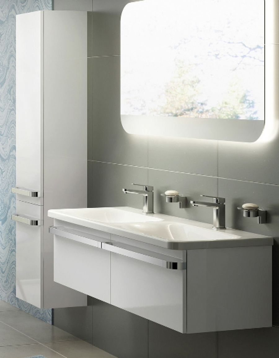 Ideal Standard Tonic II – pełna aranżacja funkcjonalnej łazienki w nowoczesnym stylu
