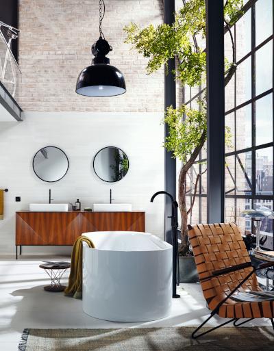 Łazienka w stylu nowojorskim – inspirujący poradnik dla urządzających