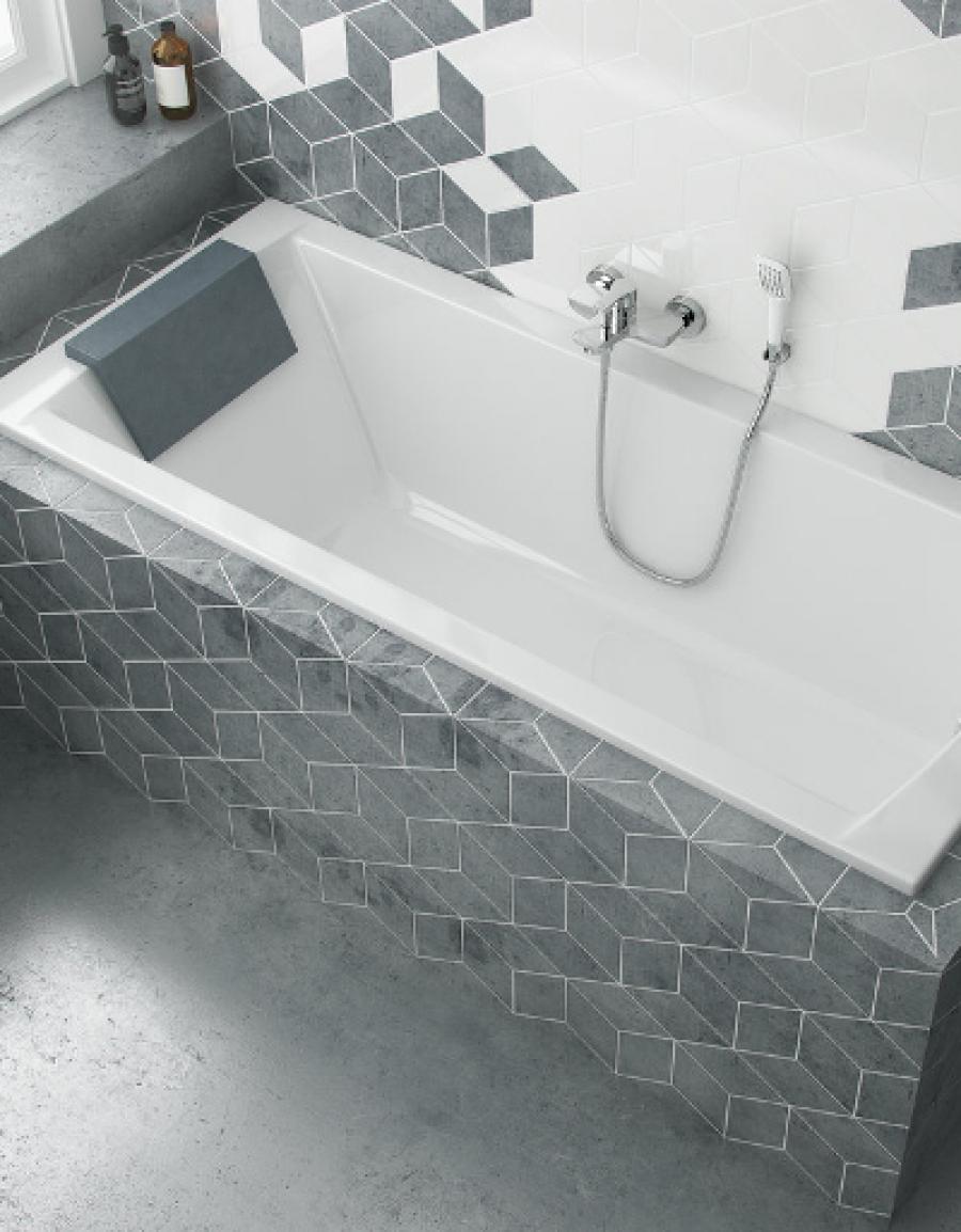 Excellent Aquaria – prostokątna wanna do uniwersalnego zastosowania w każdej łazience
