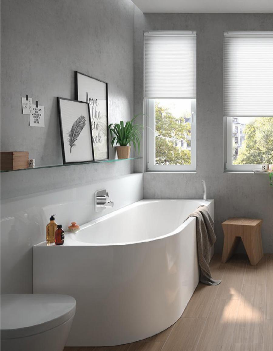 Łazienka w stylu skandynawskim – jak urządzić piękne wnętrze prosto ze Skandynawii? Porady Inspiracje Opinie Aranżacje