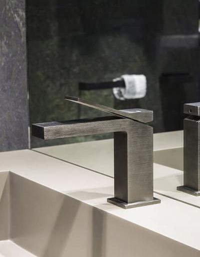 Gessi Rettangolo K – armatura łazienkowa jako dzieło sztuki