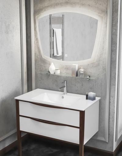 Cerastyle Ibiza – umywalka wpuszczana w blat i WC podwieszane