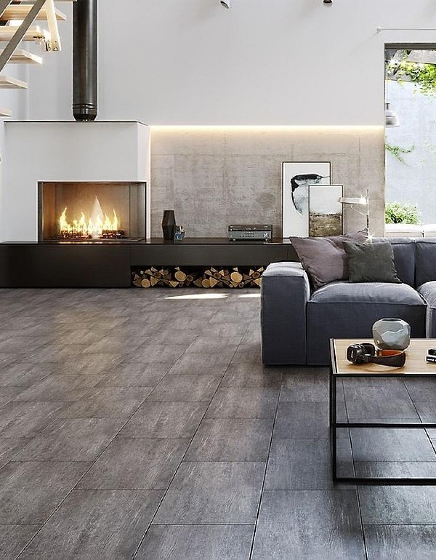 Opoczno Cemento – płytka ścienna i płytka podłogowa, do wnętrza i na zewnątrz