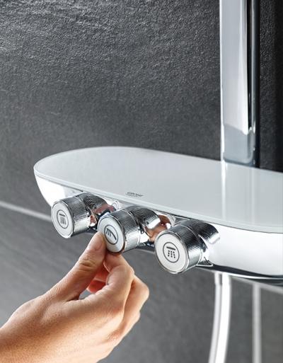 Zestaw prysznicowy od Grohe. Smart Control w Twojej łazience!