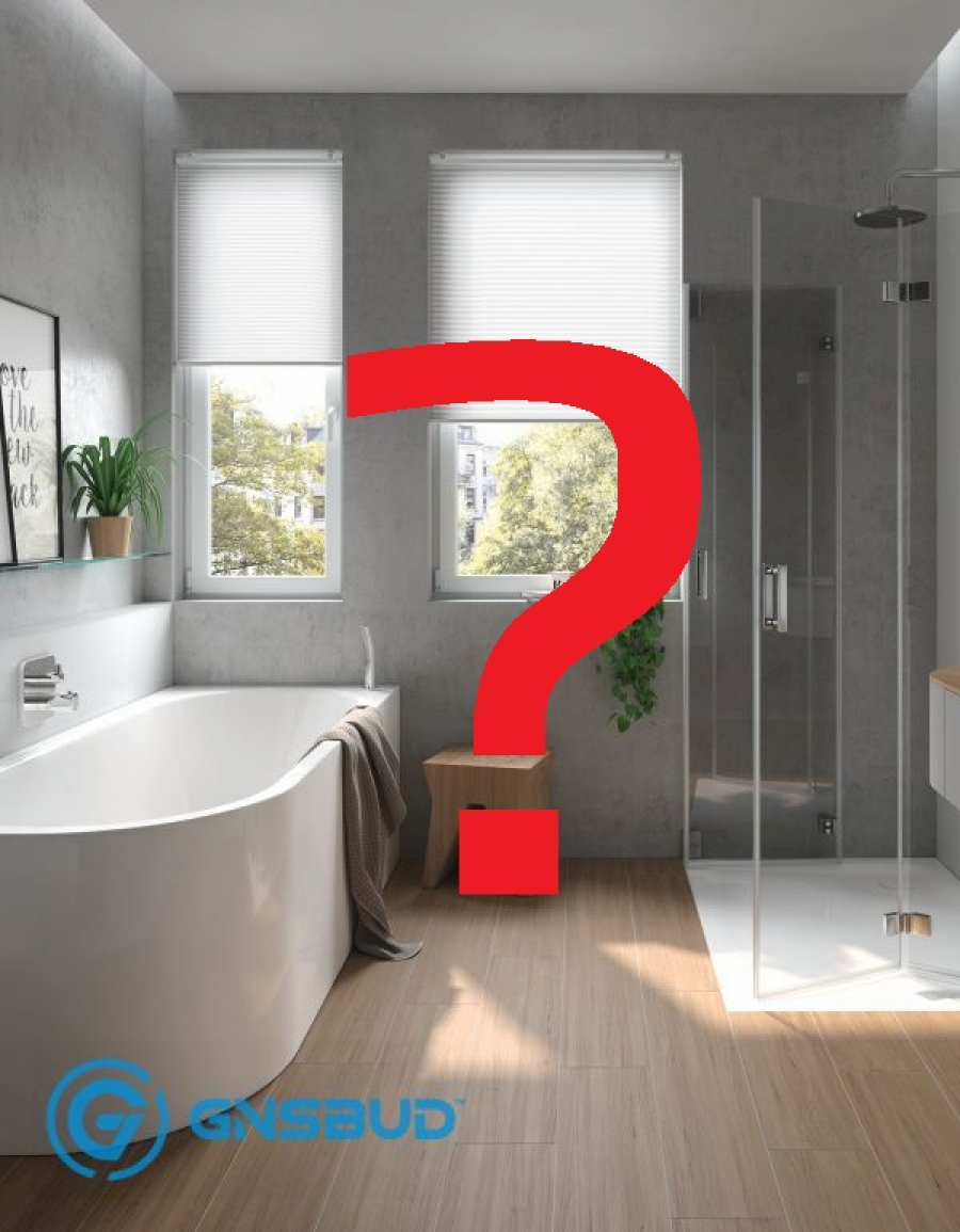Wanna czy prysznic? Forum, Blog, Opinie, Normy w łazience tylko na www.Gnsbud.pl!