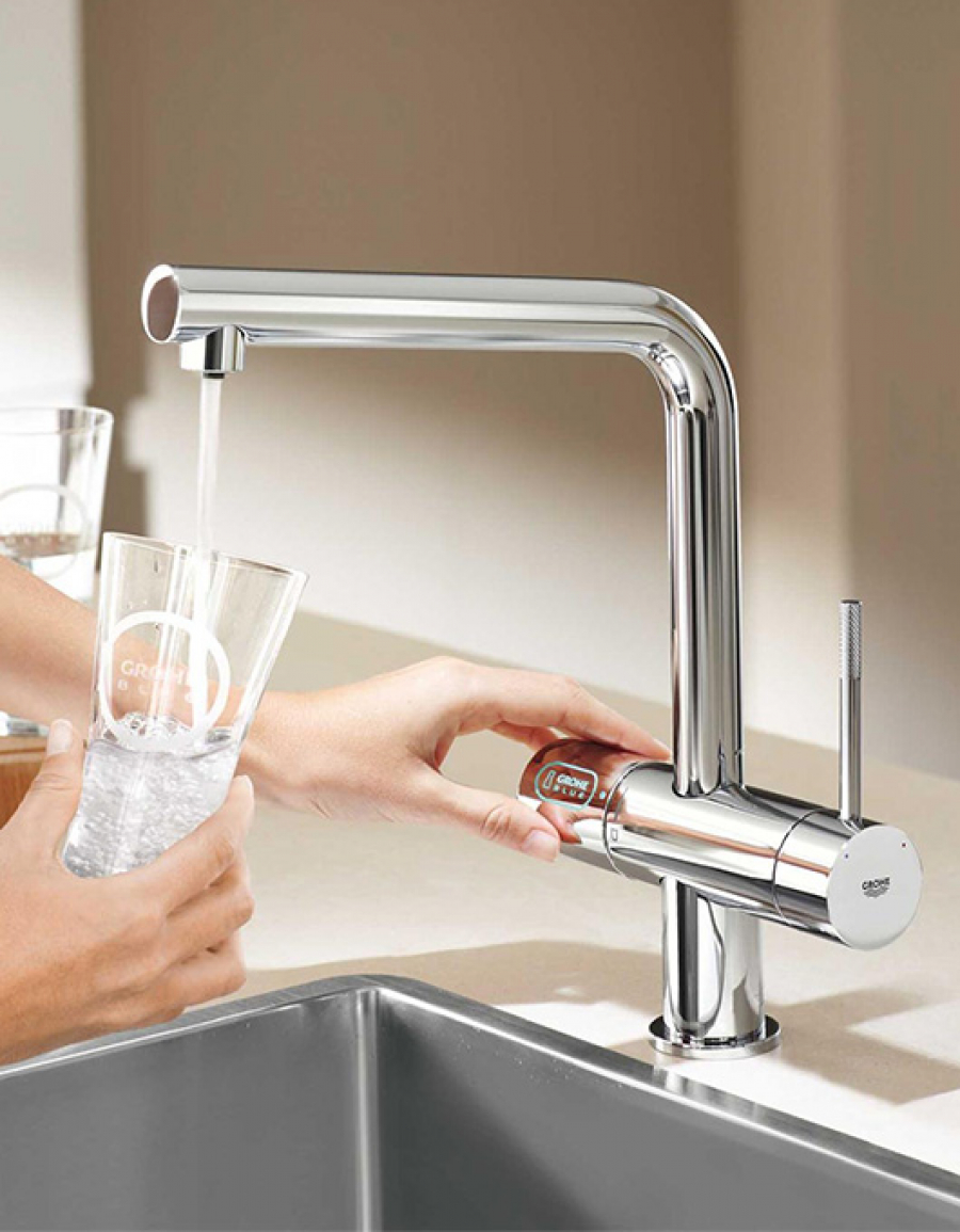 Grohe Blue®Pure, Grohe Blue® Chilled and Sparkling, Grohe Blue®Home – najlepsze baterie kuchenne!