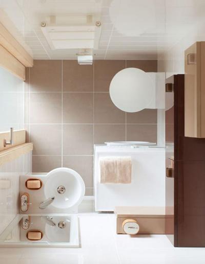 25 pomysłów - Mała łazienka: w bloku, z prysznicem, z wanną. Pomysł na małą łazienkę – praktyczne wskazówki i inspiracje