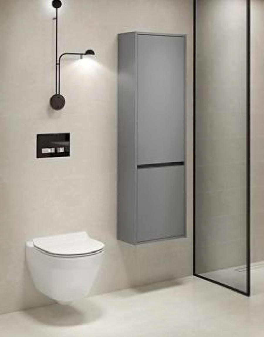 ⚫ Cersanit Crea, czyli miski WC bez kołnierza, umywalki i meble w nowoczesnym wydaniu