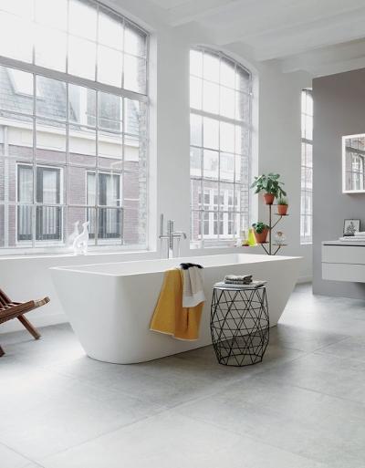 """29 pomysłów – łazienka minimalistyczna i zasada """"mniej znaczy więcej"""""""