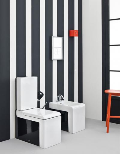 Art Ceram La Fontana umywalka, miska WC i deska w nowoczesnej łazience!