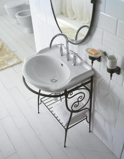 Globo Paestum – fantazyjna ceramika łazienkowa w stylu glamour