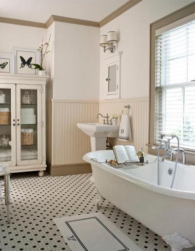 Łazienka retro – retro aranżacje i porady, jak urządzić retro łazienkę