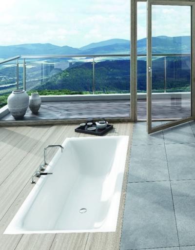 Kaldewei Incava pozwoli poczuć przyjemność kąpieli w wannie dla dwojga