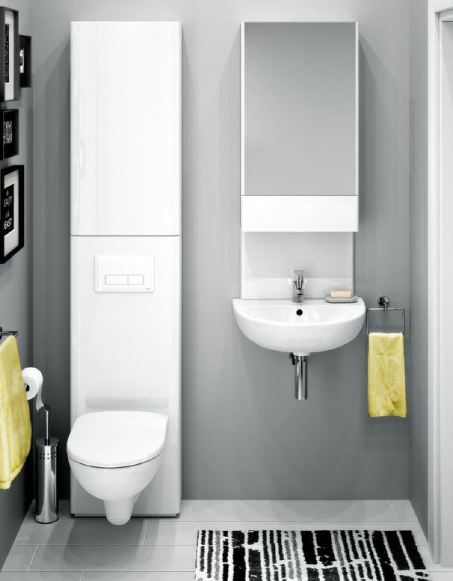 KOŁO Nova Pro – nowoczesna ceramika łazienkowa o wielu możliwościach aranżacyjnych