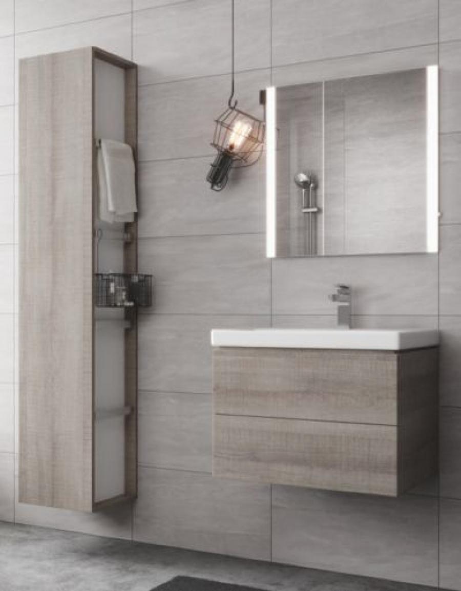 Cersanit City Oval zestaw do łazienki nowoczesnej: miska WC, deska, umywalka i bidet!