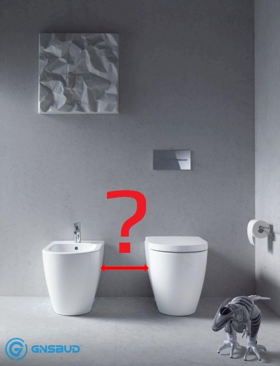 ⚫⚫⚫ Odległość między bidetem a WC ⚫ Forum, Blog, Opinie, Normy w łazience tylko na www.Gnsbud.pl!
