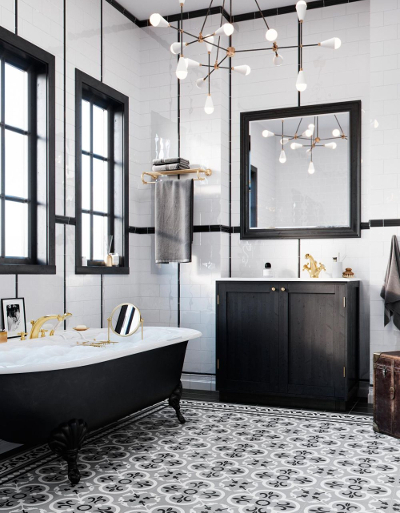 Kludi Adlon – luksusowa armatura do łazienki w stylu glamour