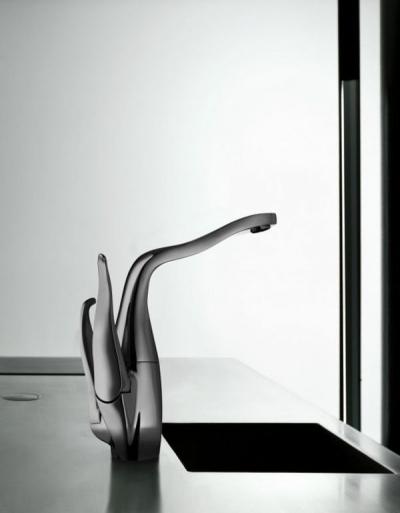 Alessi Swan By Oras – bateria kuchenna niczym dzieło sztuki