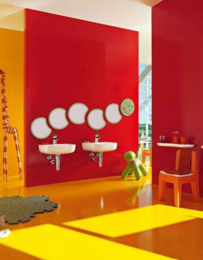 Laufen Florakids – ceramika sanitarna i sposób na aranżację łazienki dla dzieci
