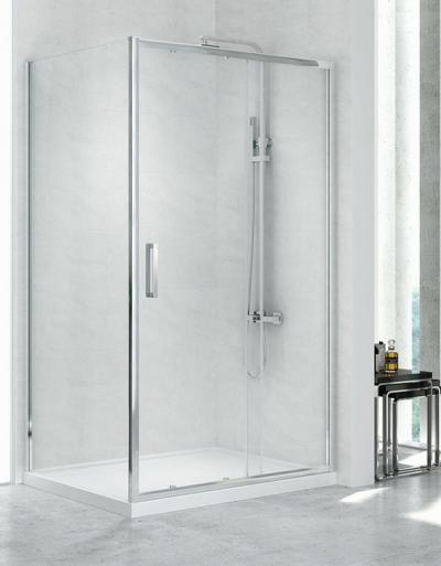 New Trendy New Corrina – kabina prysznicowa i drzwi wnękowe do nowoczesnej łazienki